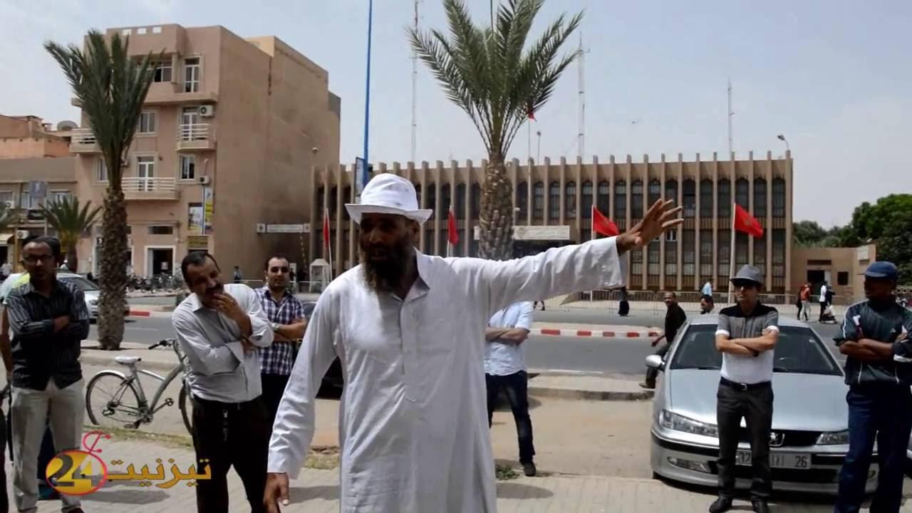 بالفيديو : الوقفة التضامنية مع الاستاذ عزيز