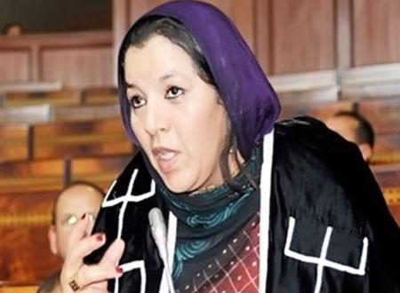 تبعمرانت تنفي مغادرتها حزب التجمع الوطني للاحرار