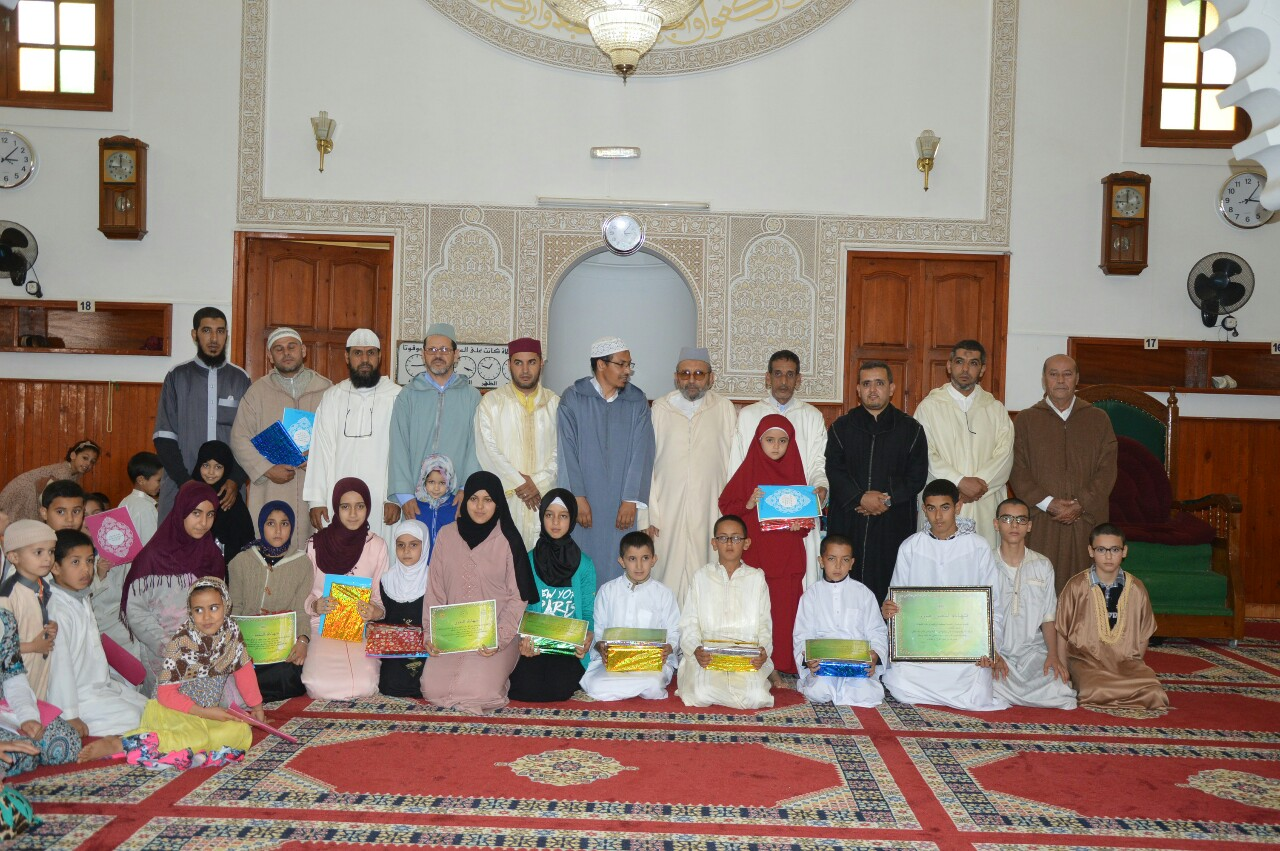 جمعية رعاية مسجد ادزكري تختتم انشطتها الرمضانية