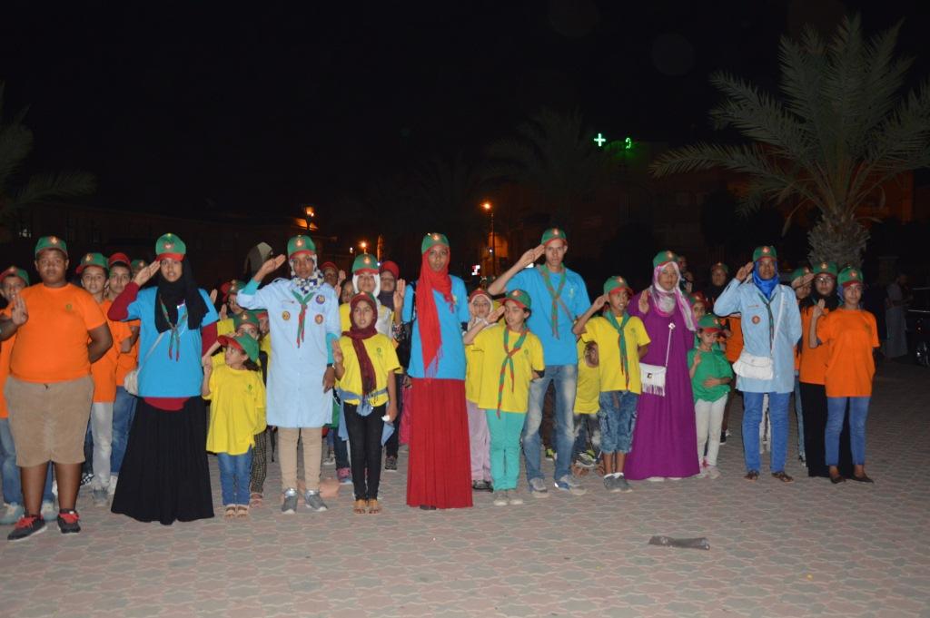 زيارة جمعية كشافة المغرب لمدينة تيزنيت