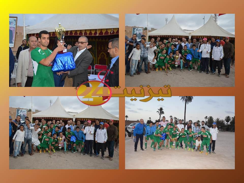 إسدال الستار على النسخة الأولى من الدوري الرمضاني بملعب باب بادوز / + صور