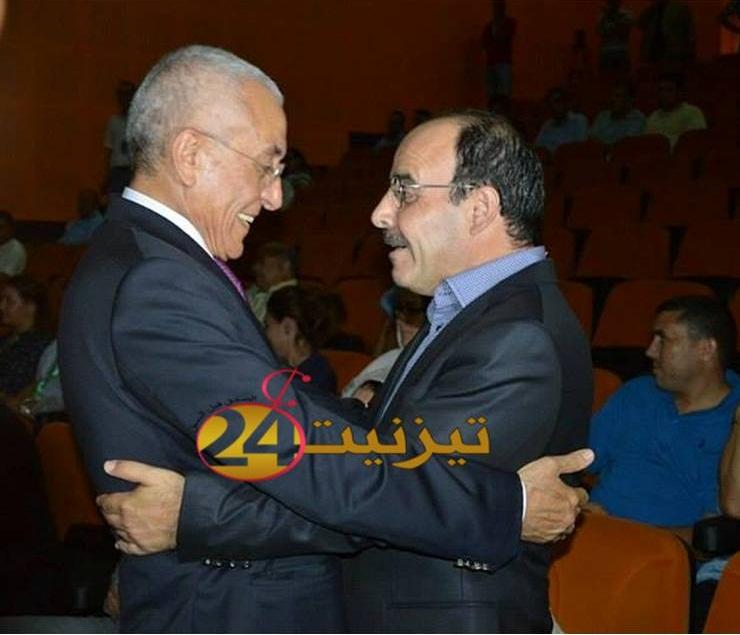 الياس العماري ينوه بجهود المستشار البرلماني عبد اللطيف اعمو