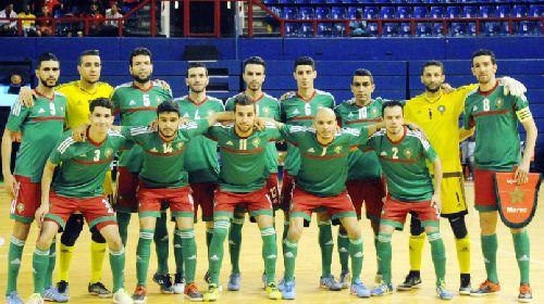 المنتخب الوطني لكرة القدم داخل القاعة يواجه منتخب مصر وديا بقاعة الانبعاث بأكادير