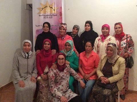 عزيزة إدلحسن تخلف ماء العينين على رأس جمعية إنصاف للمرأة والطفل والاسرة