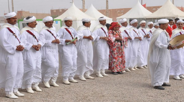 سيدي إفني: تنظيم الدورة الثالثة لمهرجان أحواش  بجماعة مستي