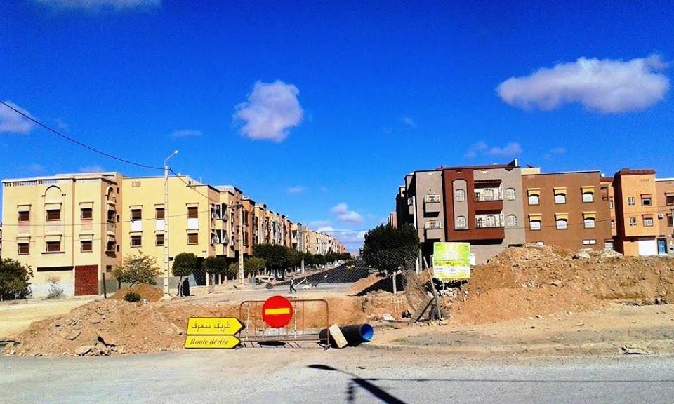 ساكنة و مستعملي طريق مدخل حي النخيل مستاؤون من وضعيته