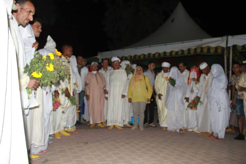 زواج امازيغي جماعي بمهرجان تيفاوين + صور