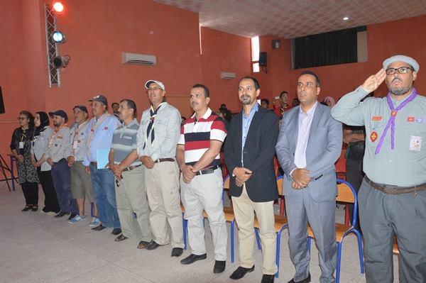 اختتام فعاليات المخيم الصيفي فرع تيزنيت للكشفية الحسنية المغربية