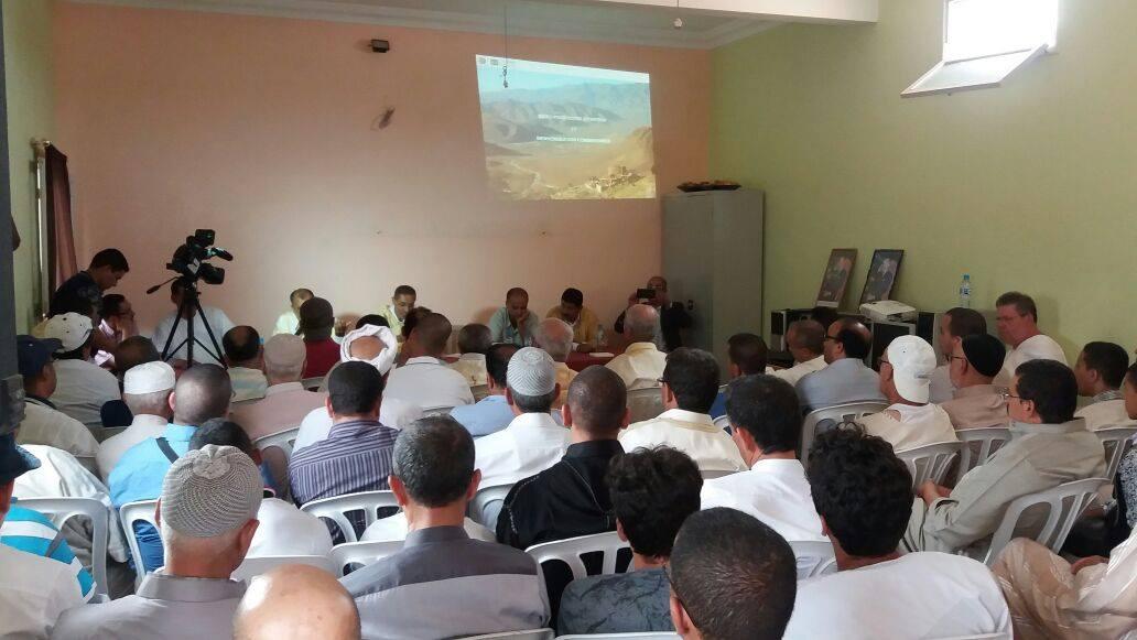 تقرير عن احتفالات اليوم الوطني للمهاجر بجماعة الساحل