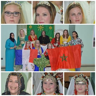 عرس تقليدي امازيغي مسك ختام زيارة شباب فرنسي لمدينة تيزنيت