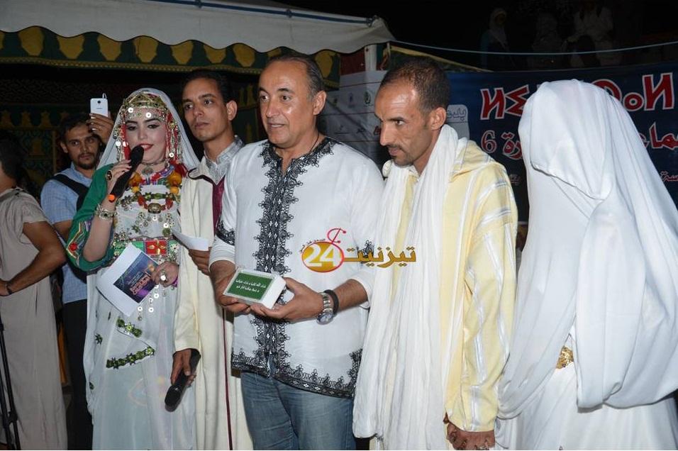 عامل اقليم تيزنيت يشرف على عقد قران ازواج بمهرجان تيفاوين