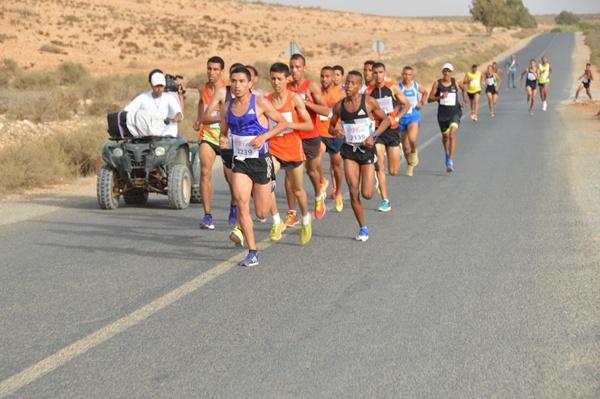 بالصور : السباق الوطني على الطريق بأكلو
