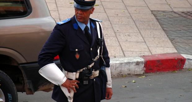 اولاد التايمة: شرطي يطلق الرصاص ويصيب مشتبه فيه
