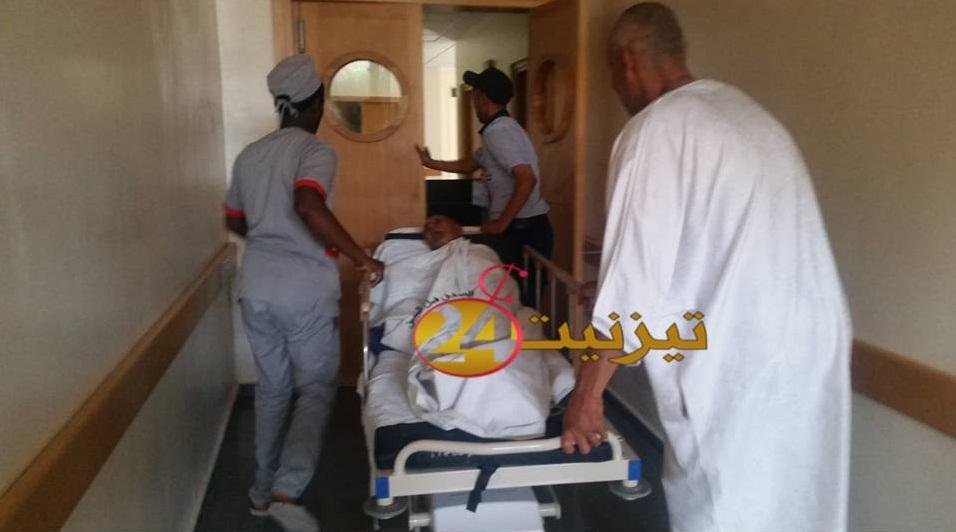 """نقل """" ابوقال وتاي """" على وجه السرعة لمستعجلات مستشفى تيزنيت"""