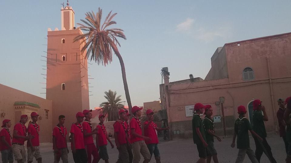 تيزنيت : 183 مستفيدا من مخيمات الكشفية الحسنية المغربية صيف 2016