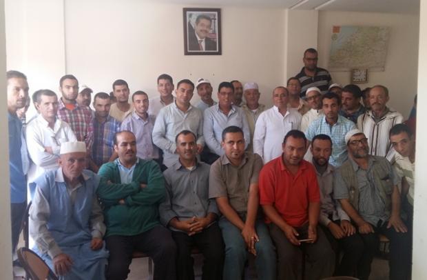 استقلاليو تيزنيت يعلنون دعمهم و مساندتهم لمرشح الحزب بالإقليم