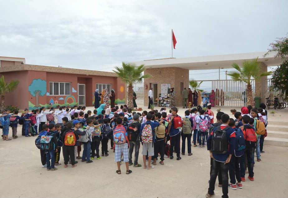 بالفيديو : احوال الدخول المدرسي الجديد بمدرسة العرفان بتيزنيت