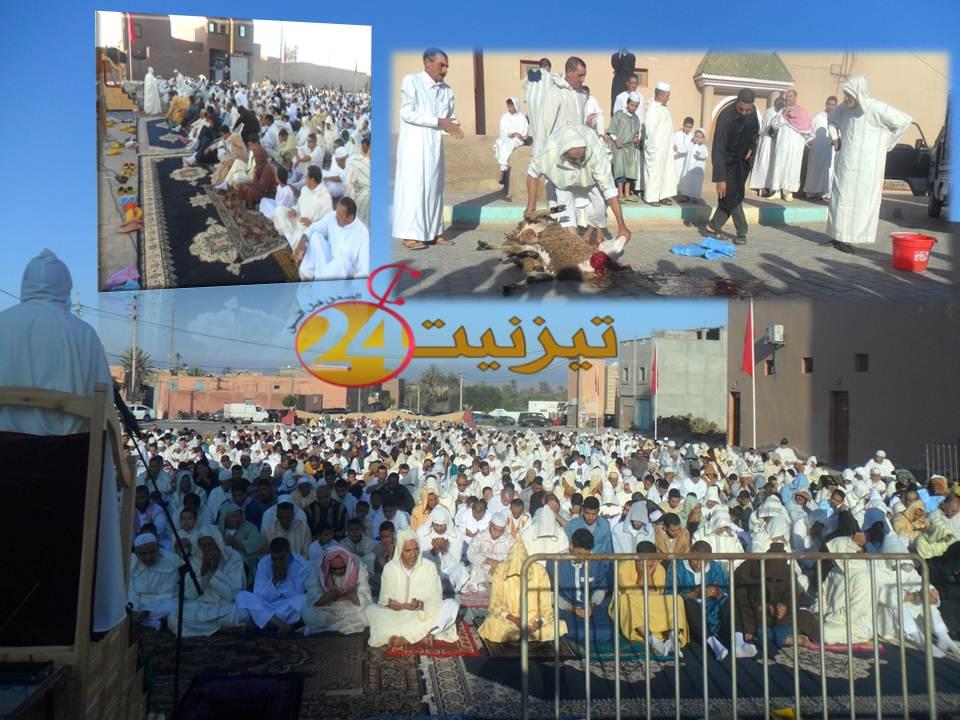 روبورطاج مصور عن عيد الأضحى بحي الدوتركا