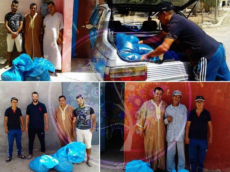 جمعية حماية البيئة – أولاد جرار تنظم حملة لتوزيع الأكياس البلاستيكية تزامنا مع عيد الأضحى