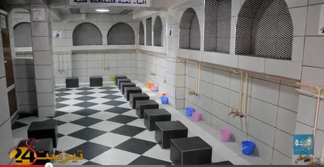 افتتاح مرافق جديدة للوضوء بمسجد القدس + فيديو وصور