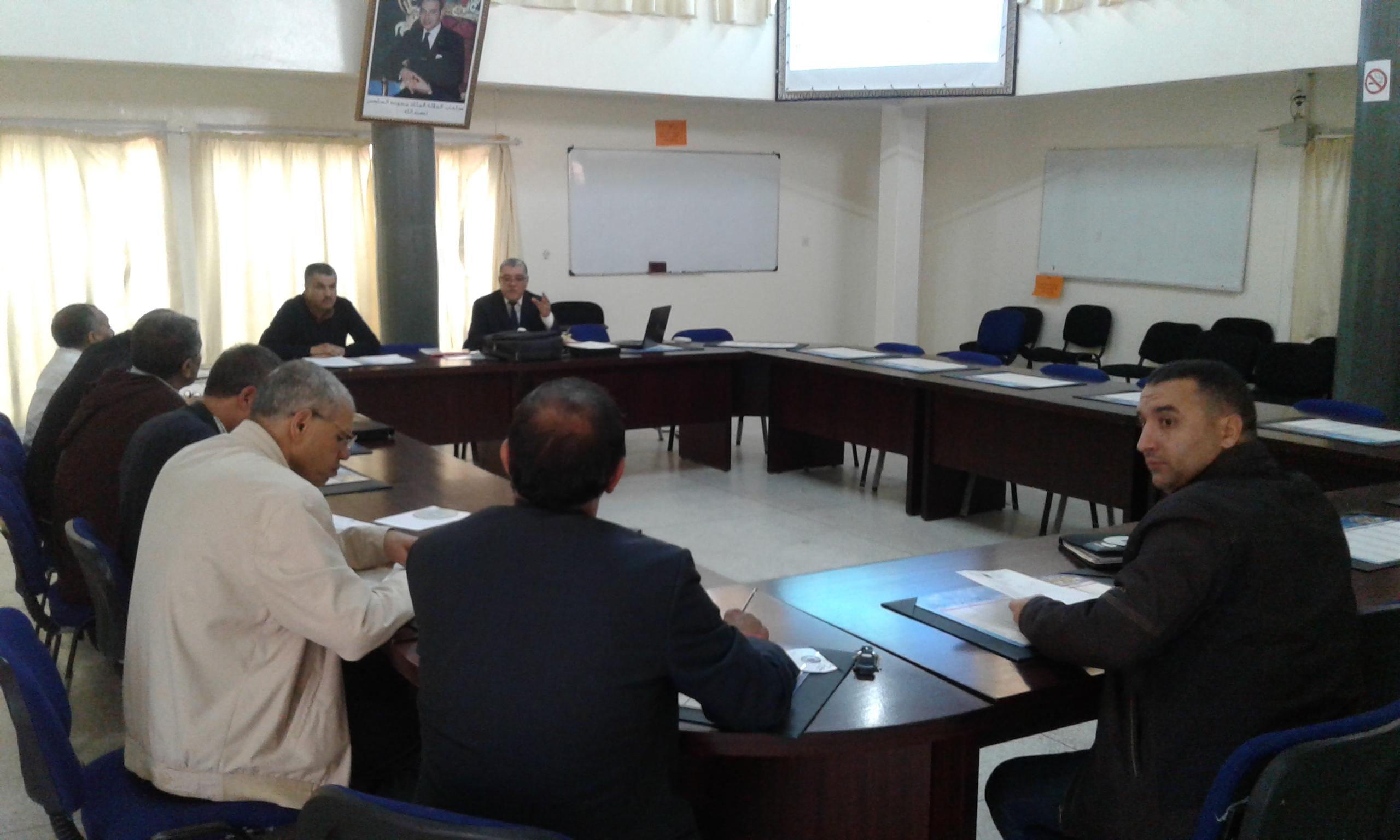 لقاء إخباري وتاطيري حول مراجعة مناهج مادة التربية الإسلاميةبالتعليم الابتدائي بالمديرية الإقليمية بتيزنيت